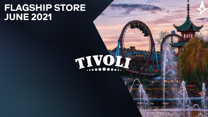 Astralis to open lead store at Tivoli Garden