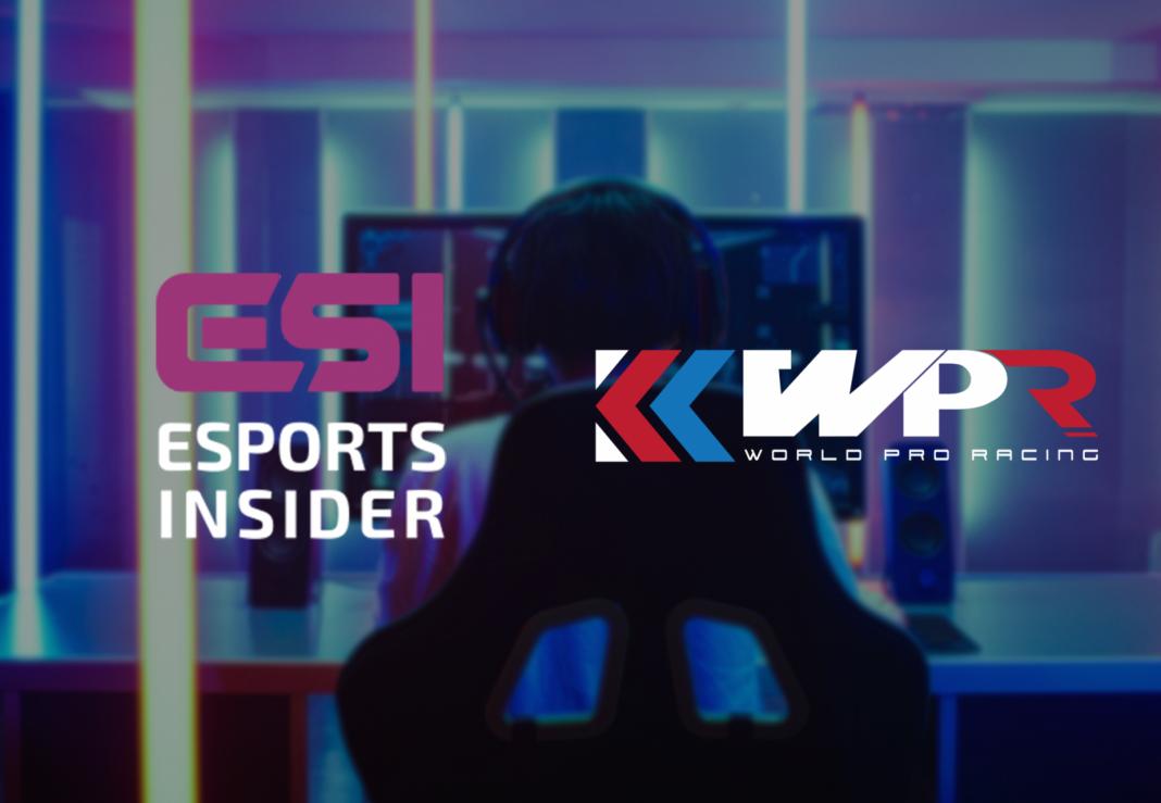 Esports Insider collaborates with racing organiser sim World Pro Racing