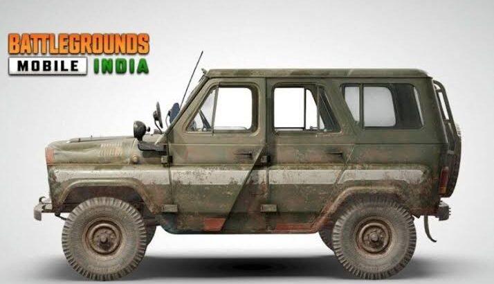 KRAFTON Confirms Addition of UAZ off-road Vehicle in Battlegrounds Mobile India | Mobile Esports | Krafton | Esports | PUBG | BGMI