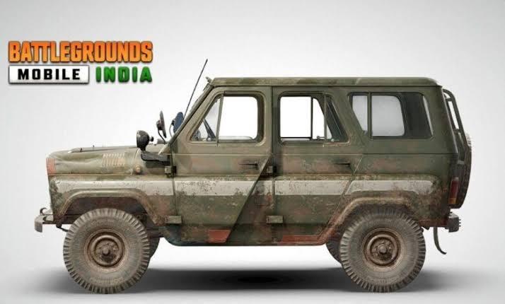 KRAFTON Confirms Addition of UAZ off-road Vehicle in Battlegrounds Mobile India   Mobile Esports   Krafton   Esports   PUBG   BGMI