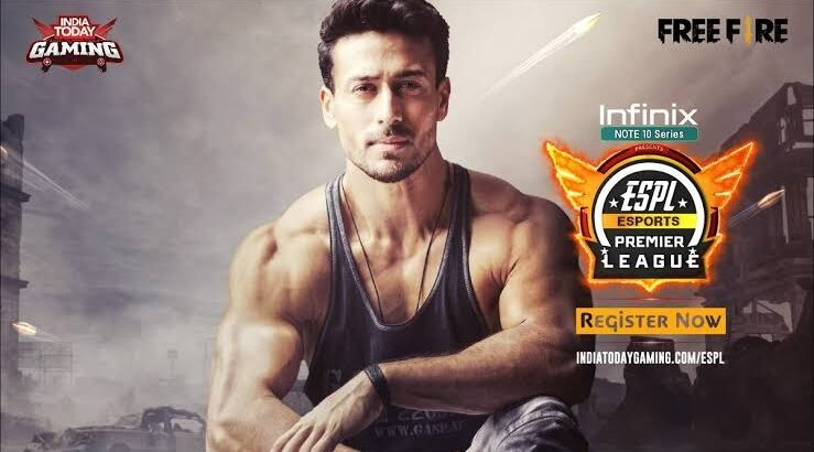 Indian Film Star Tiger Shroff Signed As The Face of Esports Premier League 2021 | Mobile Esports | Free Fire | Esports